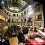 Get married in the Smallest Theater - Umbria. Cristiano Ostinelli Photographer